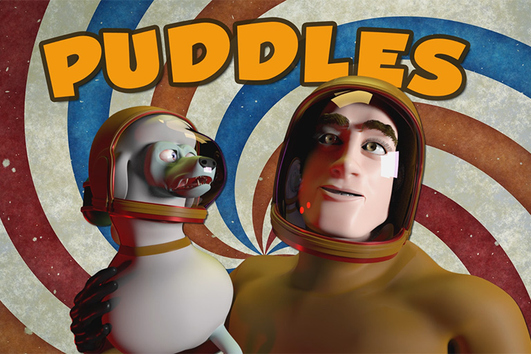 Title poster for Puddles